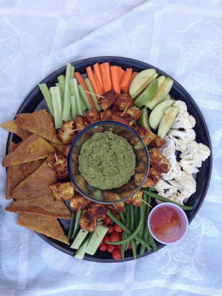 Family snack plate